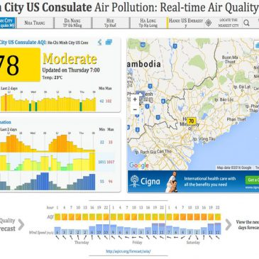 US Consulate In HCMC now provides real time air quality readings